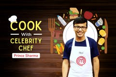 Cook with Celebrity Chef - Prince