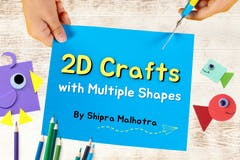 2D crafts with Multiple Shapes