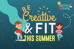 Be creative and Fit this Summer