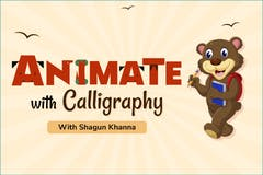 Animate with Calligraphy
